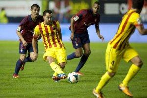 Osasuna 0-0 Barcelona Xavi 2013