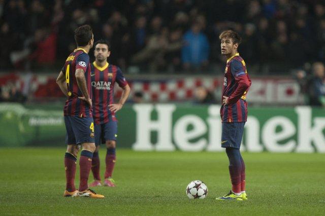 Ajax 2-1 Barça Xavi Fabregas Neymar 2013