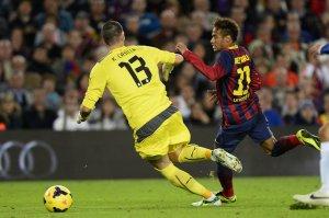 barça 1-0 espanyol neymar and casilla 2013