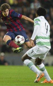 Barça 6-1 Celtic Sergi Roberto 2013