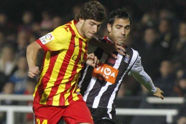 Cartagena 1-4 Barcelona Sergi Roberto copa del rey 2013