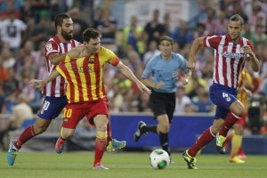 atletico madrid 1-1 barcelona messi arda