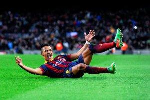 Barça 4-0 Elche Alexis Sanchez 2014