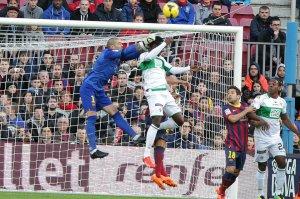 Barça 4-0 Elche Valdés 2014