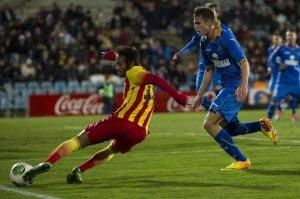 Getafe 0-2 Barça Neymar injury 2014