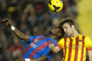 Levante 1-1 Barcelona Diop Fabregas 2014