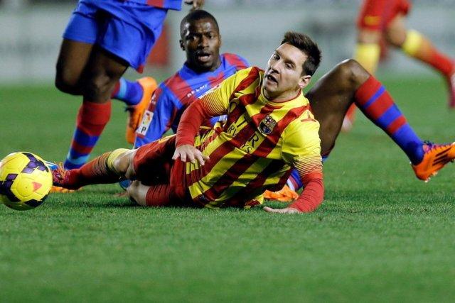 Levante 1-1 Barcelona Leo Messi 2014