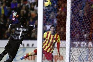 Levante 1-1 Barcelona Messi 2014