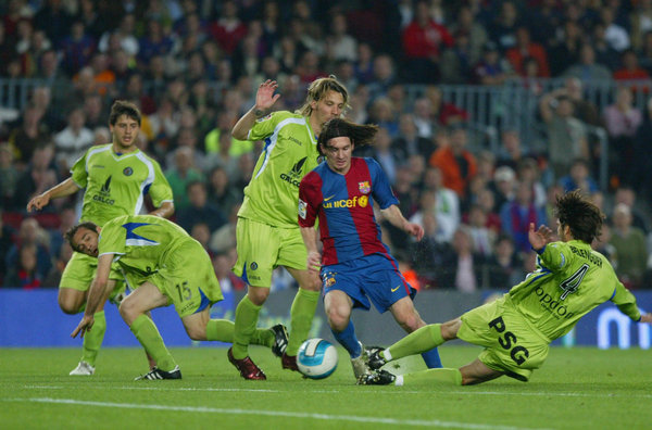 Messi getafe golazo 2007