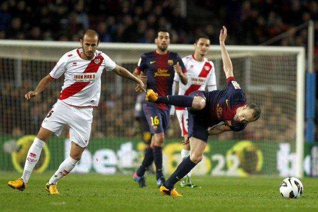 barcelona 3-1 rayo iniesta 2013