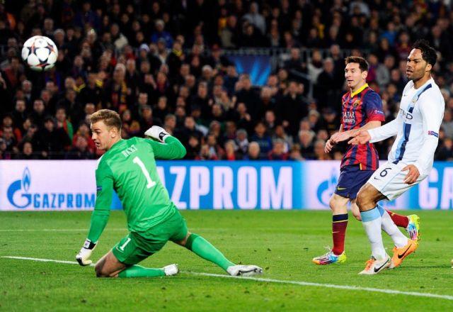 Barça 2-1 Man City Messi goal