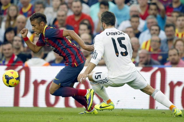 Barcelona 2-1 Real Madrid Neymar 2013
