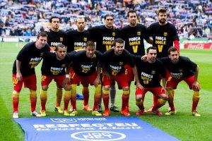 Espanyol 0-1 Barça Força Doble V team photo 2014