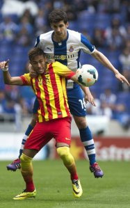 Espanyol 0-1 Barça Neymar 2014