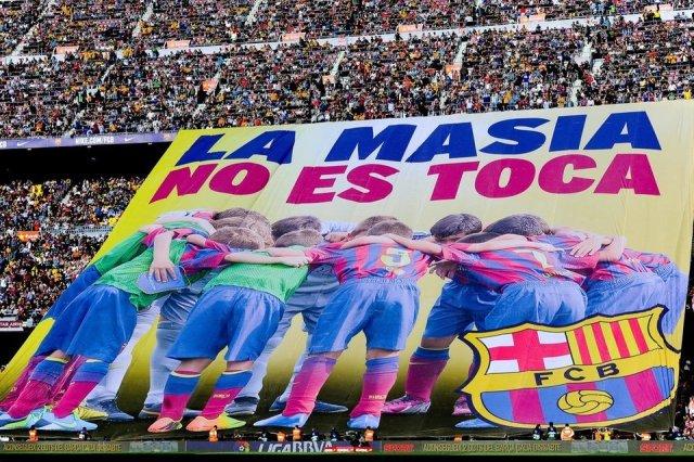 La Masia no se toca 2014 Barça Betis