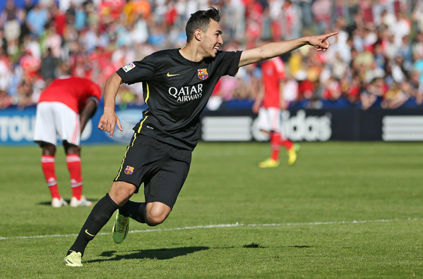 Munir El Haddadi 2014 UEFA Youth League Final