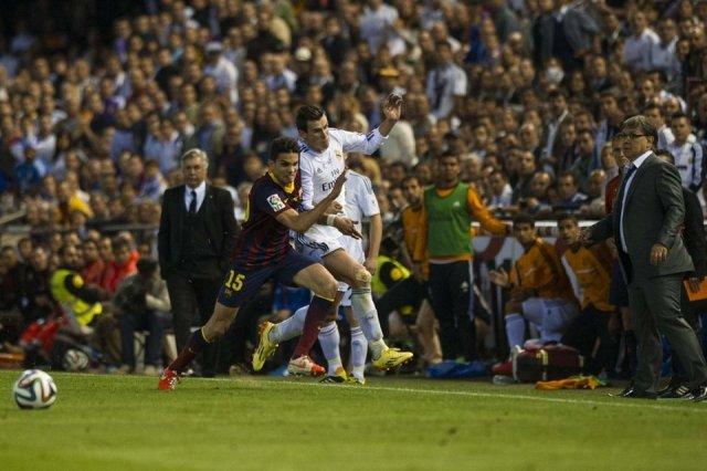 Real Madrid 2-1 Barça Bale Bartra Copa del Rey Final 2014