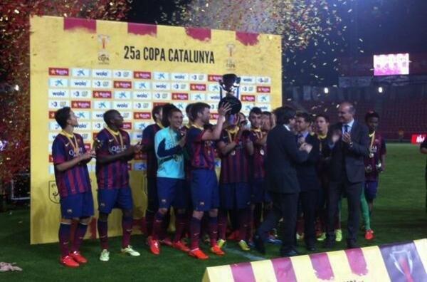 Copa Catalunya Barça 2014
