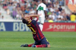 Elche 0-0 Barça Adriano 2014
