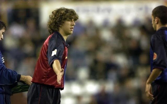 Puyol debut 1999