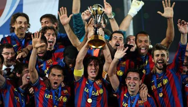 Puyol world club champions 2009