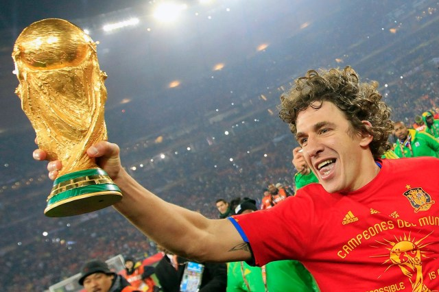 Puyol World Cup 2010