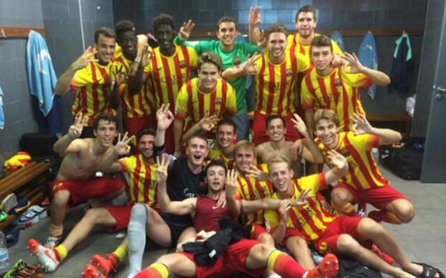 Barça B 2014