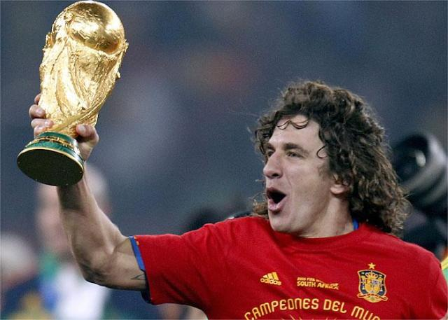 puyol world cup winner 2010