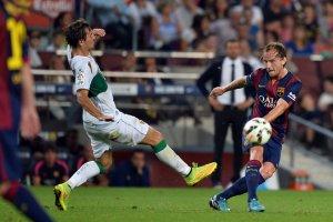 Barça 3-0 Elche Ivan Rakitic 2014