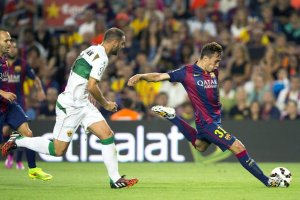 Barça 3-0 Elche Munir post 2014