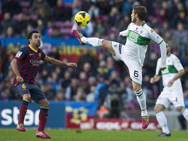 Barça 4-0 Elche Xavi
