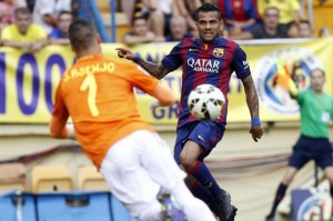 Dani Alves 2014 Villarreal 0-1