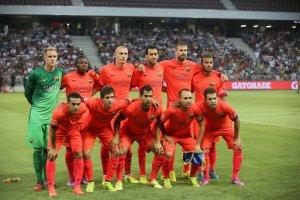 Team photo Barça Nice 2014