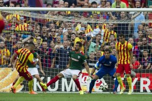 Barça 2-0 Athletic Neymar scores second 2014