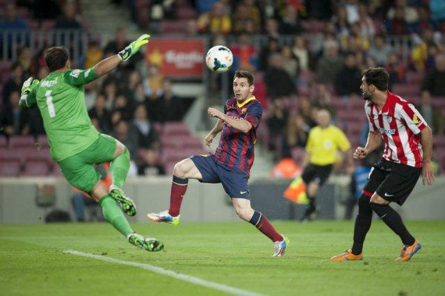 Barça 2-1 Athletic 2014