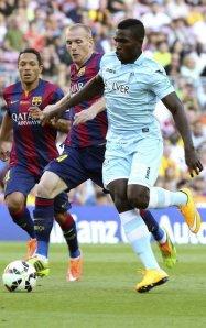 Barça 6-0 Granada Mathieu 2014