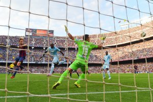 Barça 6-0 Granada Rakitic goal 2014