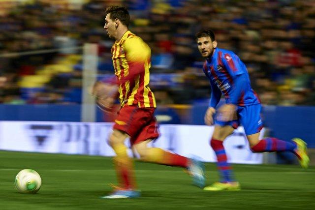Leo Messi vs Levante 2014