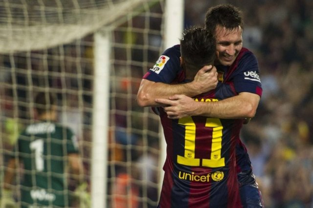 Barça 3-0 Eibar Messi Neymar