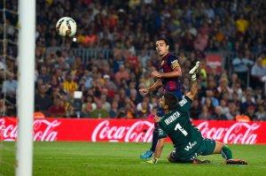 Barça 3-0 Eibar Xavi goal 2014