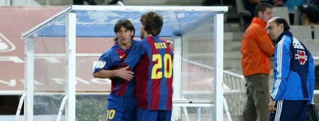 Messi debut 2004