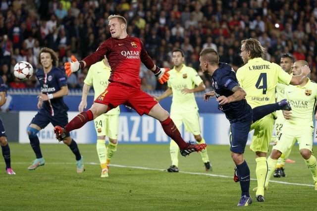 PSG 3-2 Barça Verratti goal 2014