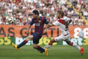 Rayo 0-2 Barça Messi goal 2014