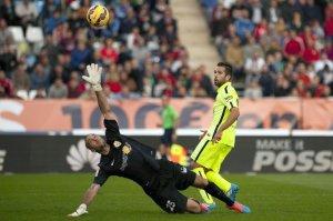 Almeria 1-2 Barça Jordi Alba goal 2014