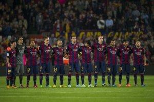 Barça 0-1 Celta team 2014