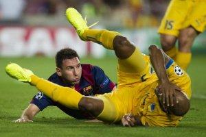 Barça 1-0 Apoel Leo Messi 2014