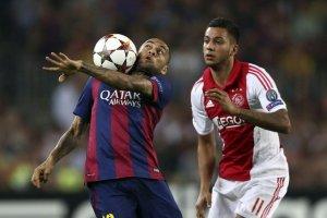 Barça 3-1 Ajax Alves 2014