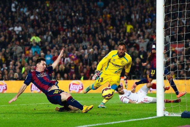 Barça 5-1 Sevilla Messi scores 252nd record goal 2014