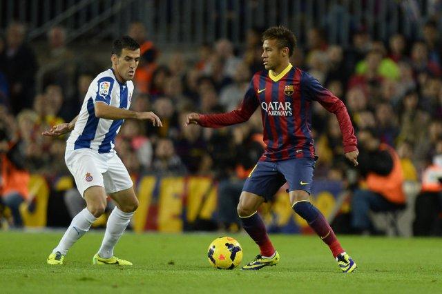 barça 1-0 espanyol neymar 2013