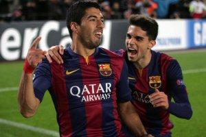 Barça 3-1 PSG Suarez Bartra 2014